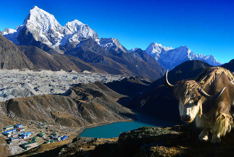 Everest Base Camp via Gokyo Lakes Trek fixed departure spring/autumn 2016/2018 cost & itinerary