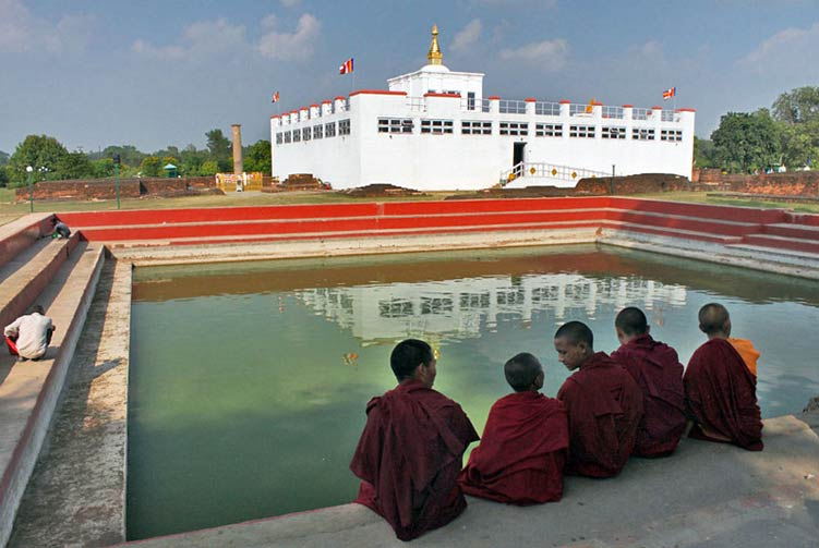 Lumbini Private Day Tours fixed departure spring/autumn 2018/2019 cost & itinerary